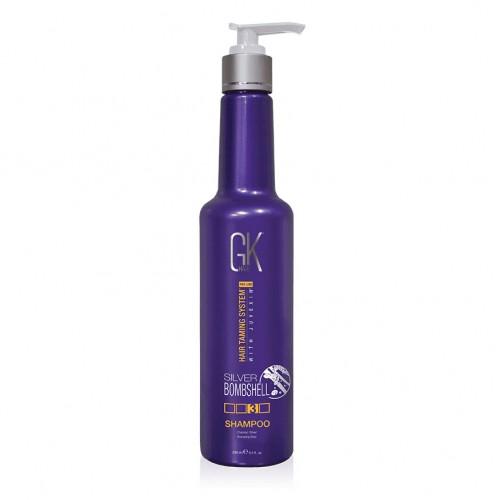 GKhair Silver Bombshell Shampoo Серебряный шампунь для блондованых волос 280мл